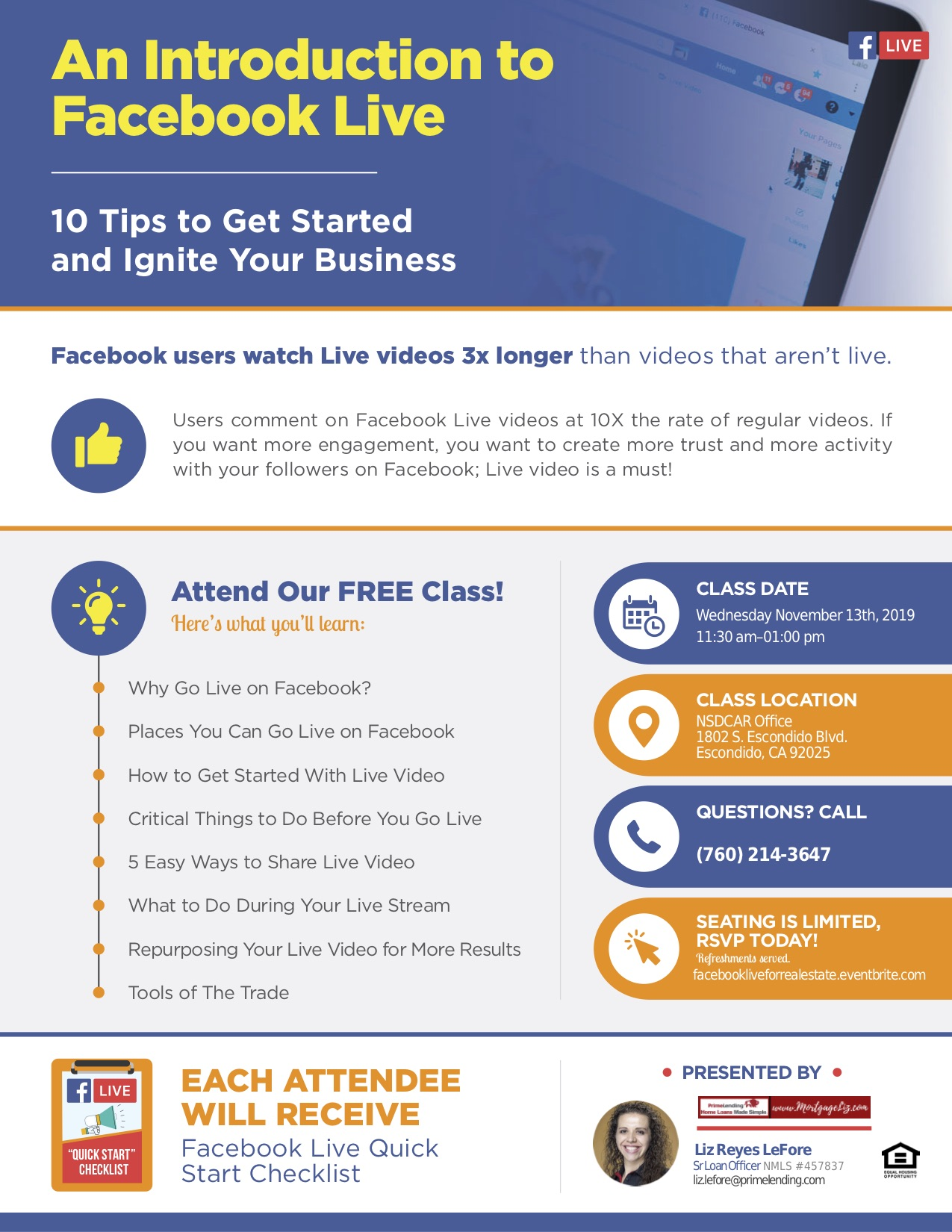 An Introduction to Facebook Live for Real Estate Tickets