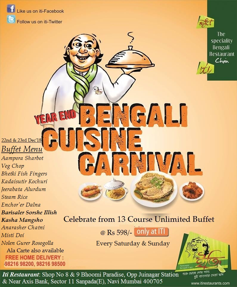Enjoyable Year End Bengali Cuisine Carnival 22 Dec 2018 Interior Design Ideas Oxytryabchikinfo