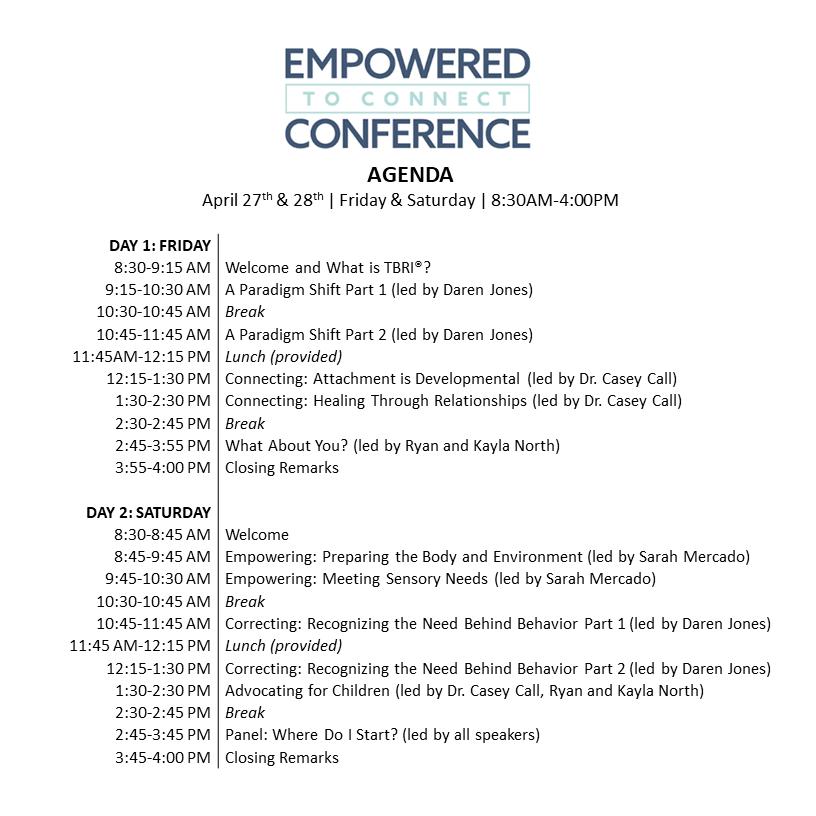 ETC 2018 Agenda