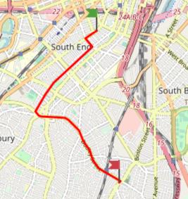 parade route