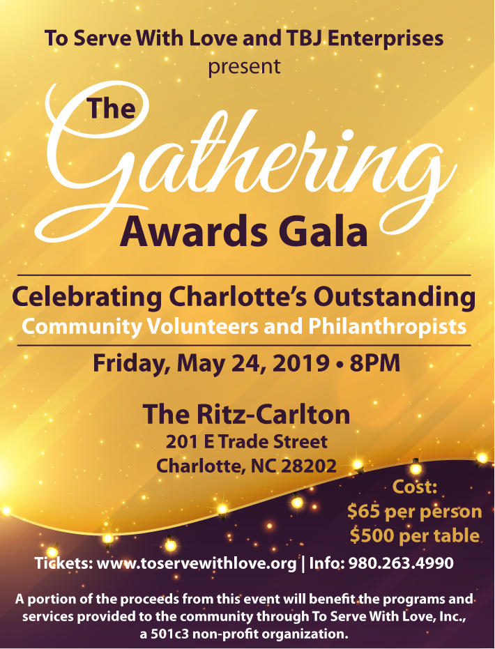 The Gathering Awards Gala Flyer