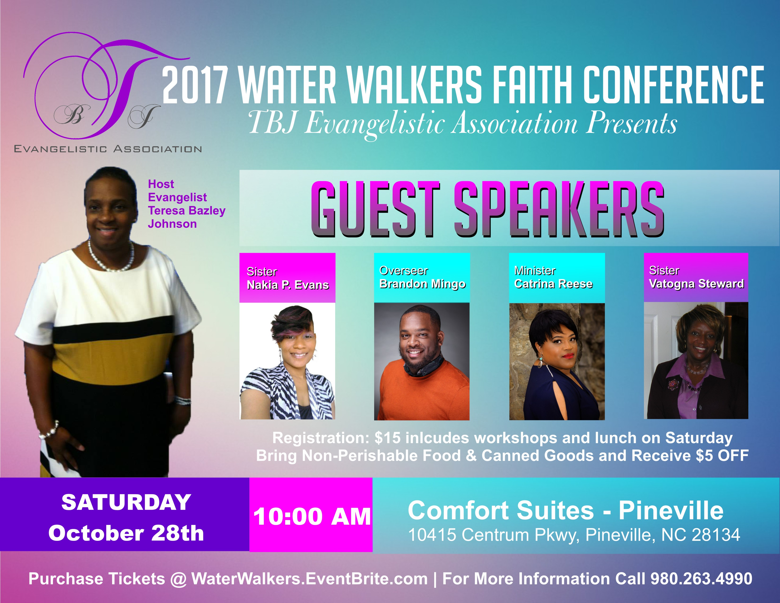 Updated Water Walkers Faith Conference