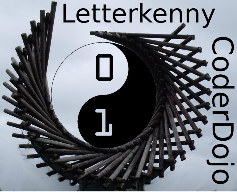 Coder Dojo Letterkenny Logo