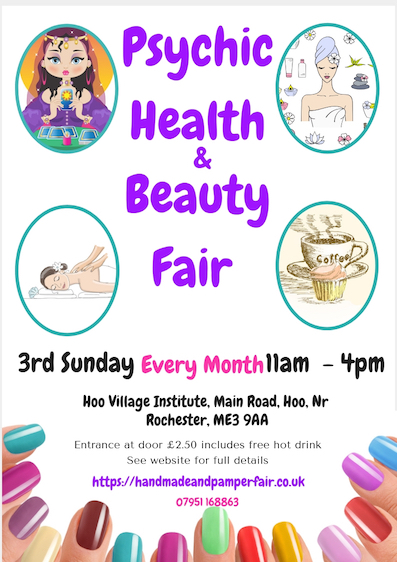 Psychic Health And Beauty Fair Hoo