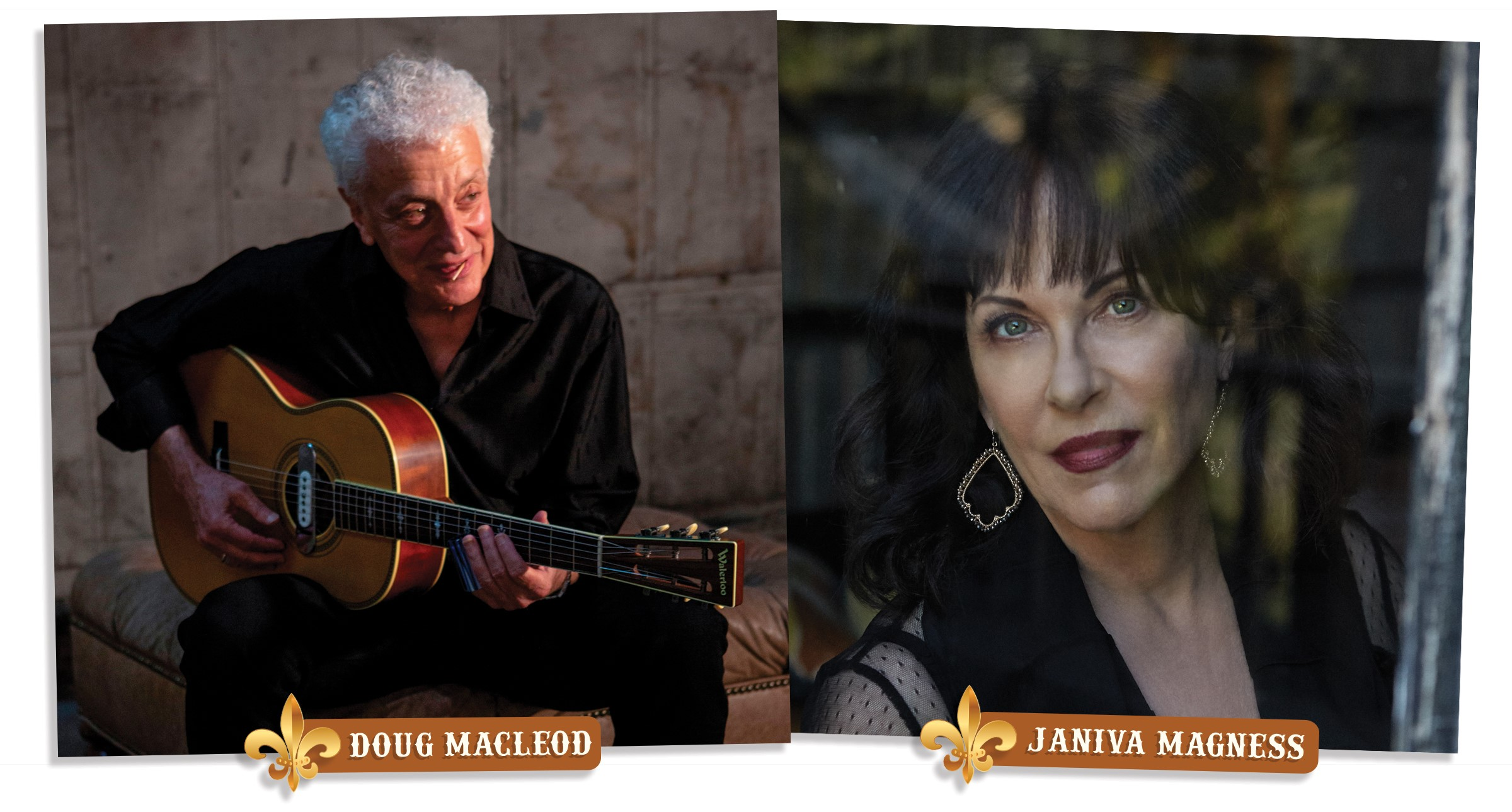 Rockin The Rails featuring Doug MacLeod and Janiva Magness