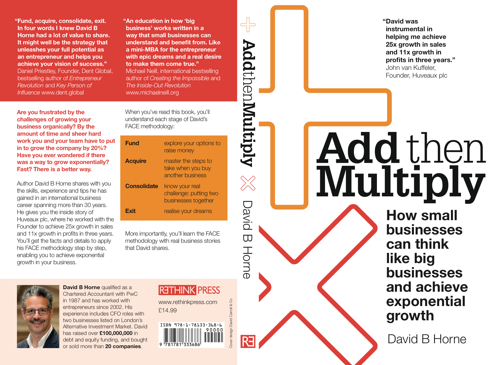 Add Then Multiply: How Small Businesses Can Think Like Big Businesses and Achieve Exponential Growth