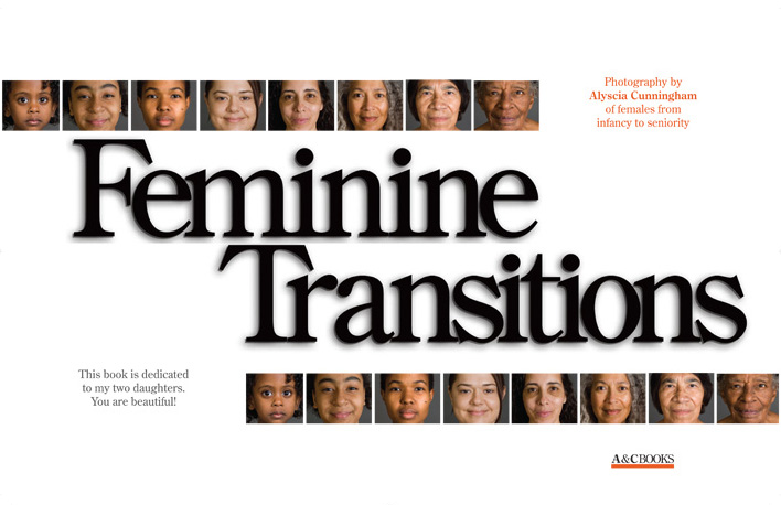Feminine Transitions title spread