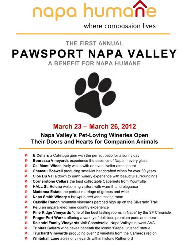 Napa Humane Pawsport