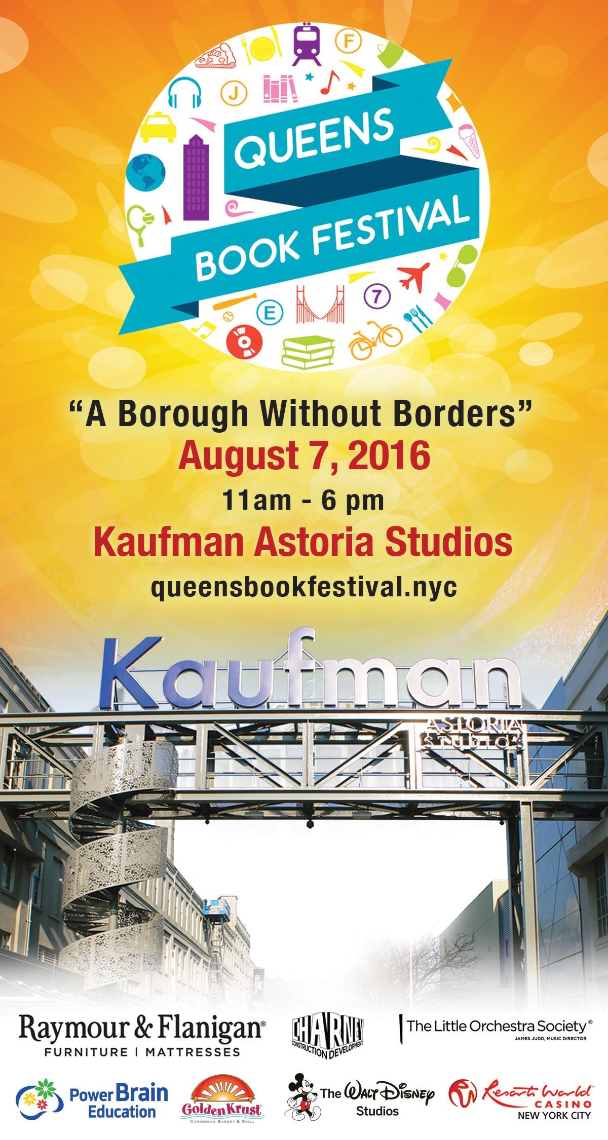 Queens Book Festival at Kaufman Astoria