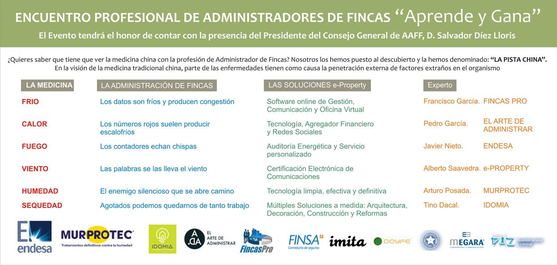 Programa Encuentro Administradores de Fincas