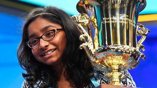 Anaya Vinay - 2017 Spelling Bee Winner