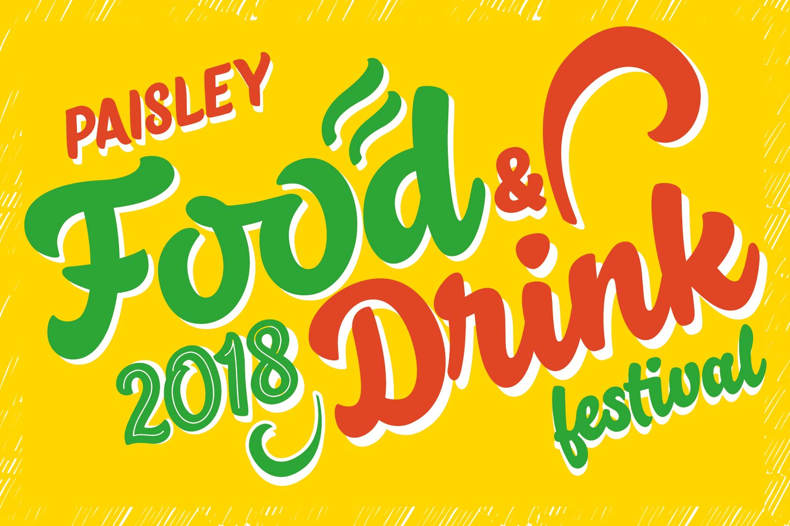 Paisley Food and Drink Festival 2018 logo