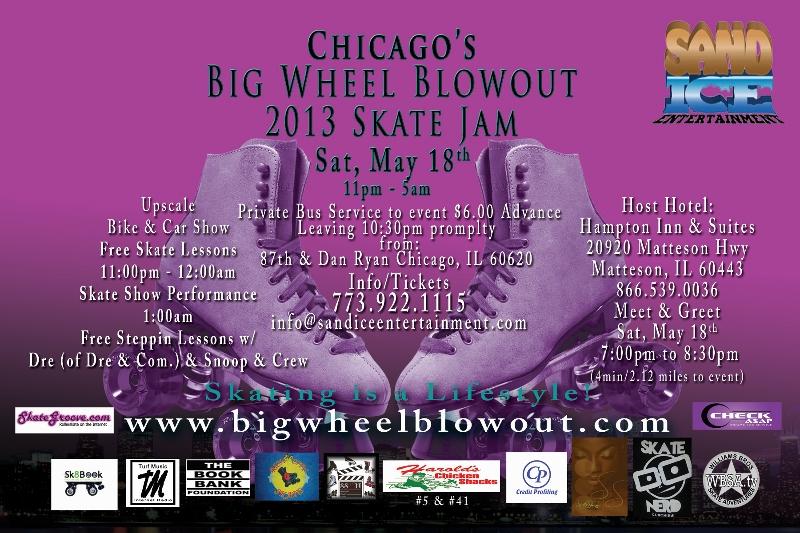 B Side Chicagos Big Wheel Blowout