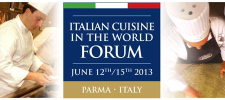 Italian Cuisine in the World Forum 2013
