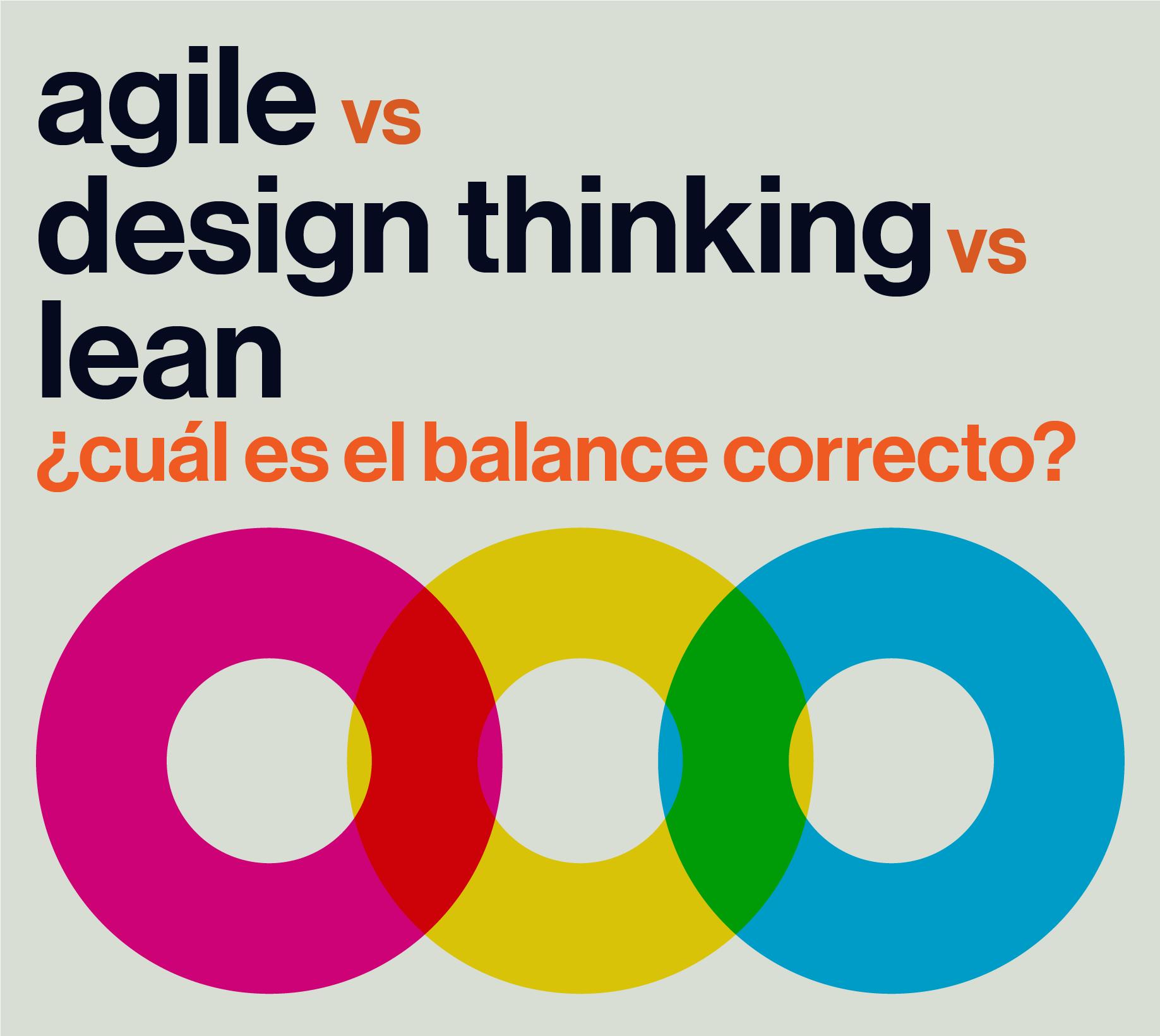 Conferencia agile vs design thinking vs lean cu l es el for Waterfall vs design thinking