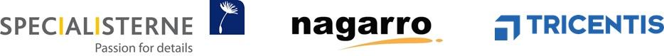 Logos Specialisterne Nagarro Tricentis