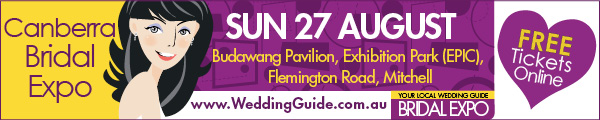 Canberra Bridal Expo - top banner