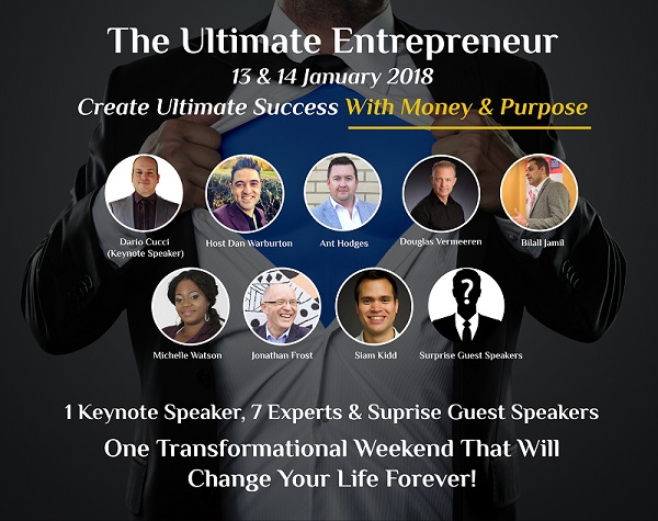 THE ULTIMATE ENTREPRENEUR EVENT.