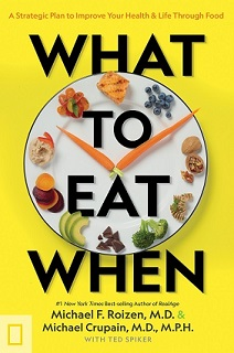 What to Eat When Book Jacket