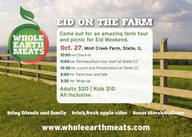 Eid On the Farm with Whole Earth Meats!