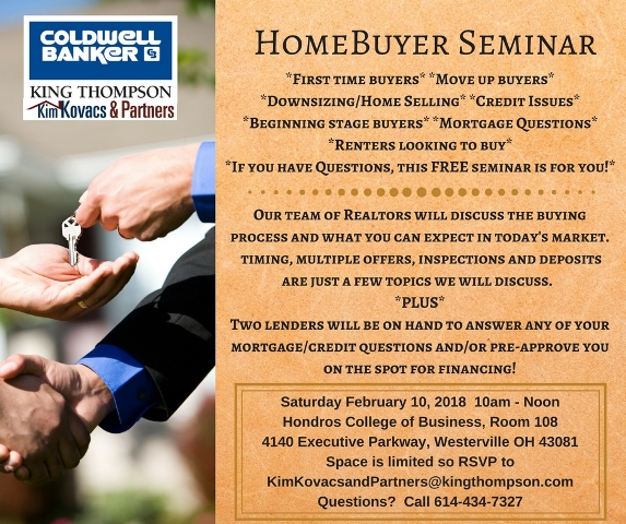 Homebuyer Seminar
