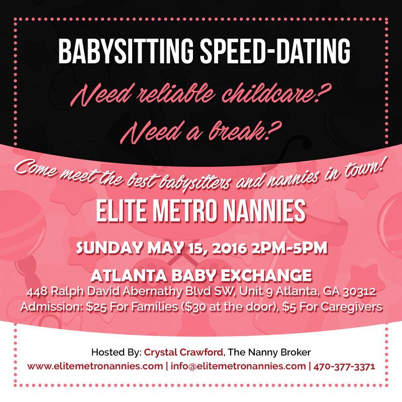 nanny speed dating
