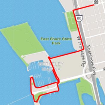 4.5 Mile Route