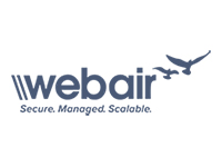 Webair - Secure. Managed. Scalable - Logo