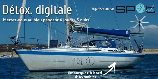 Cure marine de détox. digitale