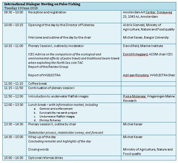 Programme International Dialogue Meeting 19 June 2018