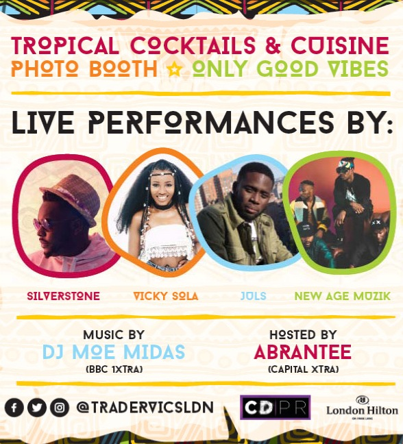 Afrobeats night at Trader Vic's