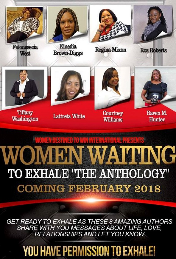 Women Waiting to Exhale - You have Permission to Exhale flyer