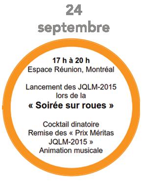 Logo Soirée sur roues JQLM-2015