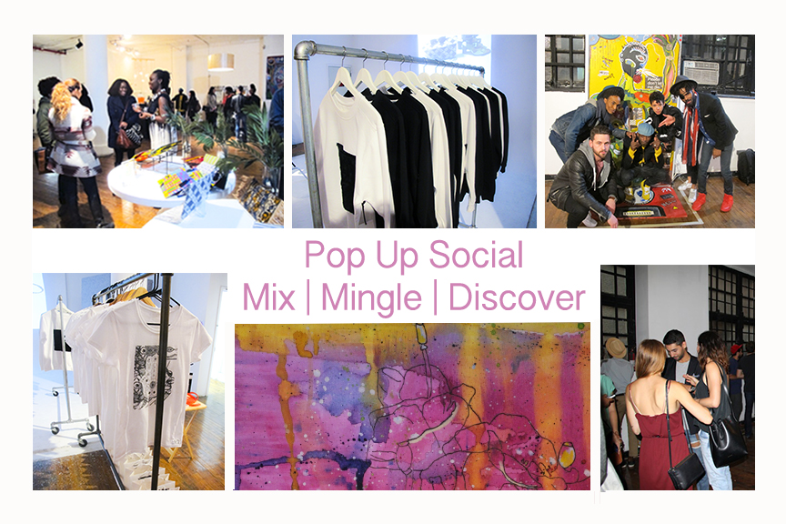 Pop Up Social Event