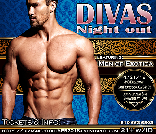 Divas Night out Male Revue 4-21-18 with Men of Exotica