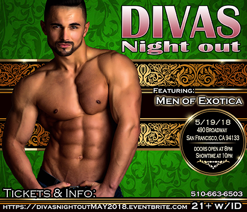 Divas Night out Male Revue 5-19-18 with Men of Exotica