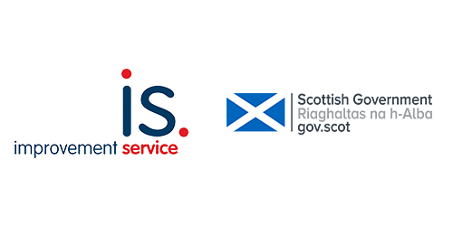 Logo from Improvement Service and Scottish Government