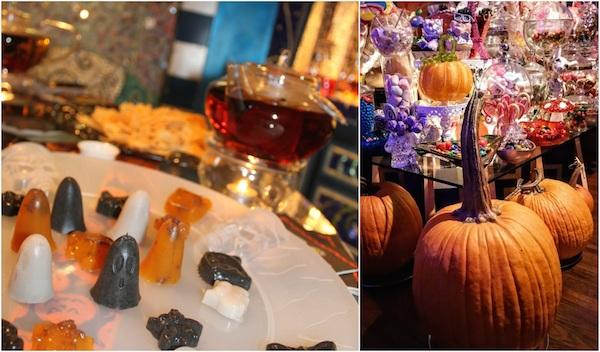 Halloween Tea Party Boo Agar-agar and Pumpkins