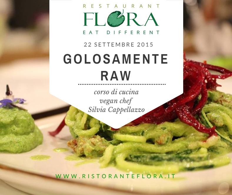 Lezioni di cucina Vegana con Silvia Cappellazzo Ristorante Flora