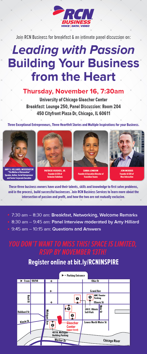 RCN - Leading with Passion - Event Info