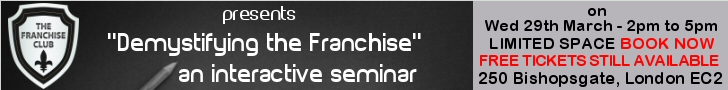 The Franchise Club - a must for all interested in the Franchise