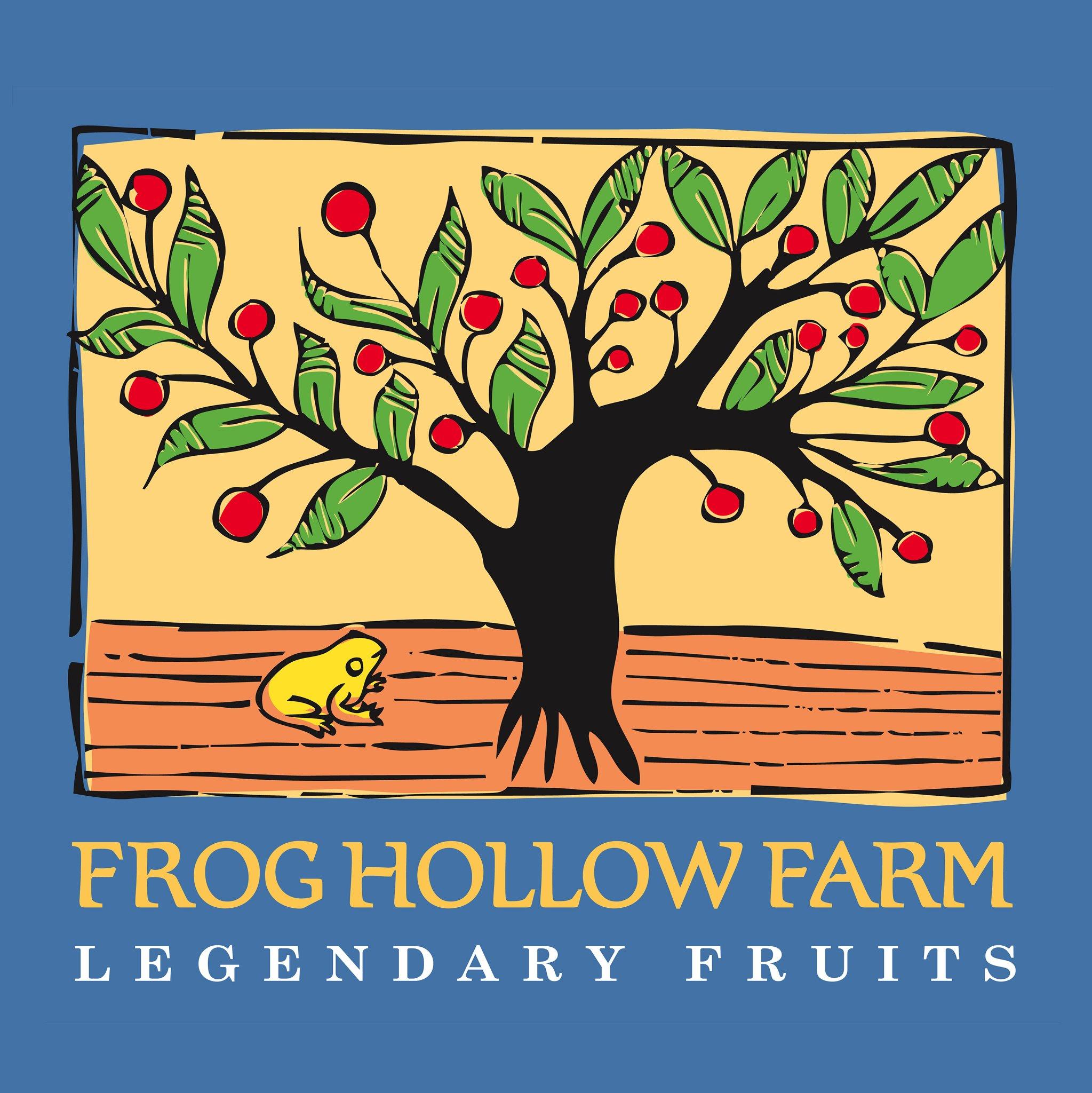 frog hollow farm logo