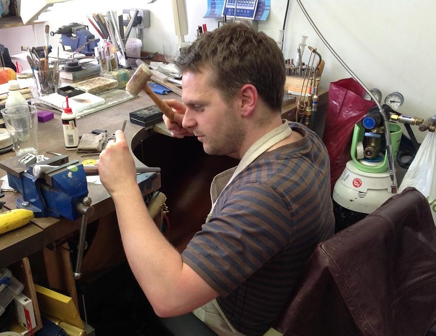 jeweller Andrew English