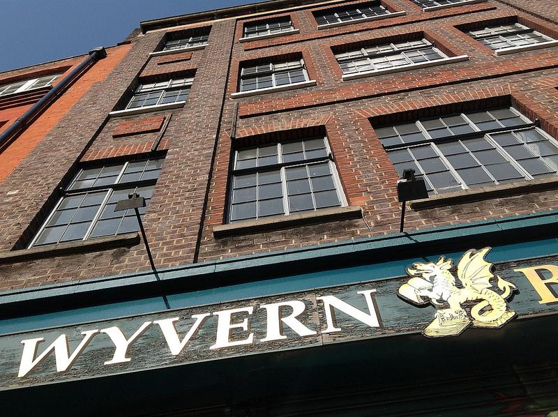 Wyvern Bindery building