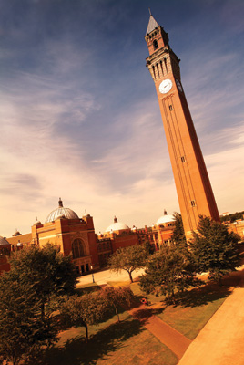 The Clock Tower University of Birmingham