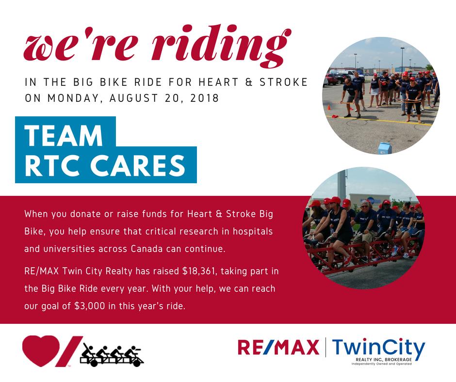 Were riding Team RTC Cares