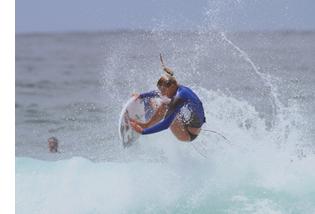 Lakey surfing