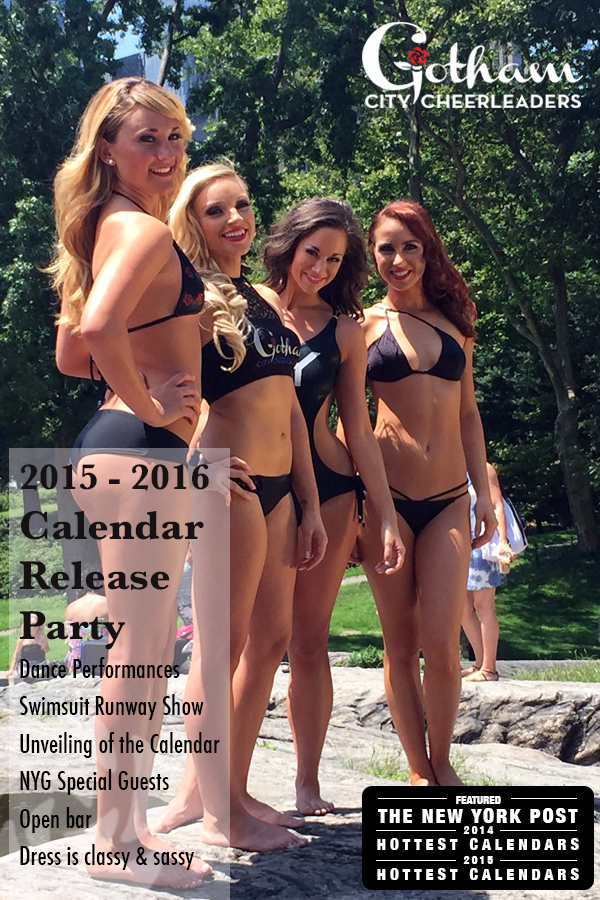 Calendar Release Party - September 12th - Slate NYC