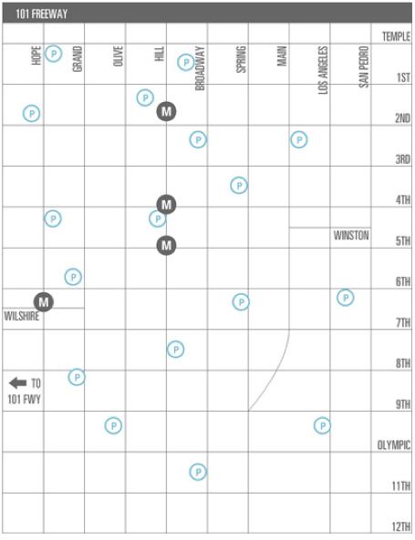 Downtown Artwalk Map