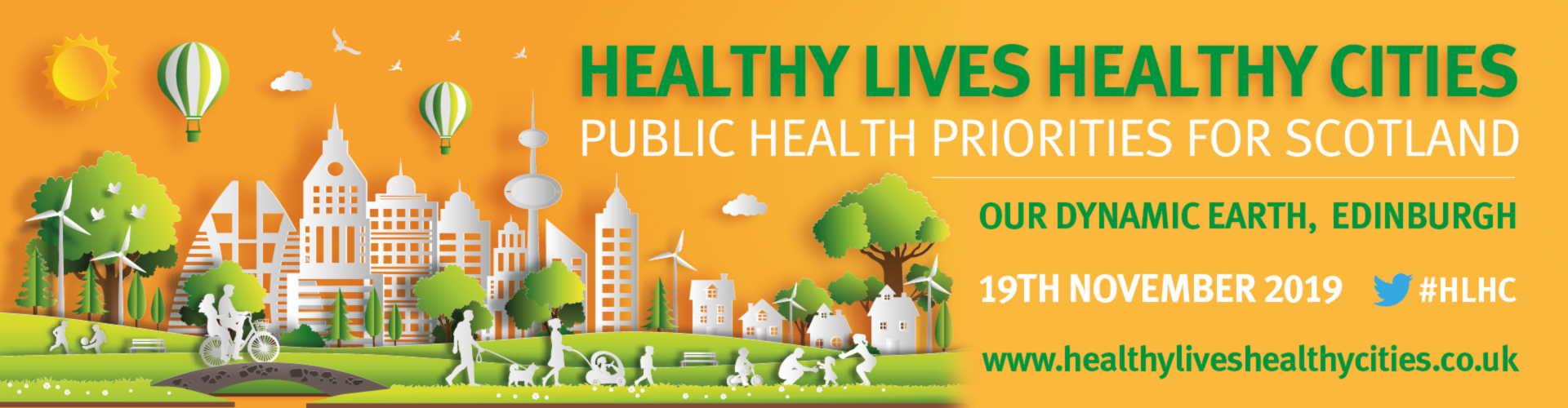 Healthy Lives Healthy Cities - Public Health Priorities for